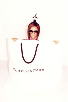 Marc Jacobs advertisements, with Victoria Beckham for his Spring/Summer 2008 collection…