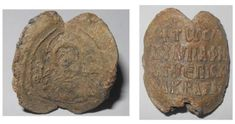 Extremely rare Akragas/Agrigentum Bishop's byzantine lead seal.