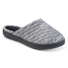 7972ee41d61 Isotoner Women s Andrea Space Knit Clog Slippers