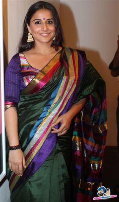 Colorful saree