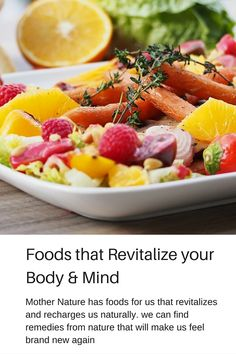 10 Herbs & that Revitalize your Body & Mind Food Picks, Mother Nature, Natural Remedies, Healthy Eating, Herbs, Salad, Posts, Fruit, Vegetables