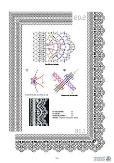 Archivo de álbumes Bobbin Lace Patterns, Lace Making, Tatting, Frame, Albums, Mud, Cake Ideas, Paint, Type