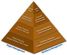 Project planning software, resource management software, workforce management