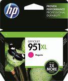 HP - 951XL High-Yield Ink Cartridge - Magenta (Pink)