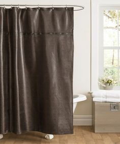 take a look at this fuchsia abby sheer voile curtain panel - set