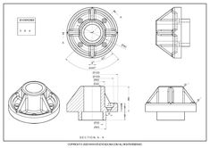 3D CAD EXERCISES 384 - STUDYCADCAM Mechanical Engineering Design, Mechanical Design, Autocad, Isometric Drawing Exercises, Cad Cam, Technical Drawings, 3d Tutorial, Cad Drawing, Drawing Practice