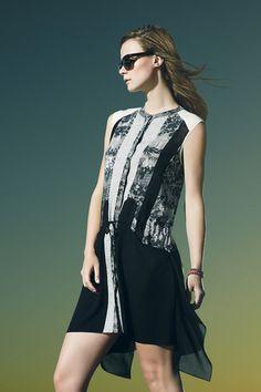 BCBG Max Azria Resort 2014 Collection Slideshow on Style.com