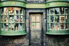 Hogsmeade Village Plant Store by Marie's Shots on Flickr.