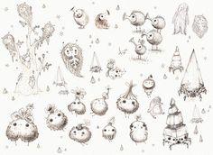 Fantasy creature development