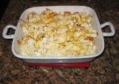 Easy Vegetarian Recipes » Easy Cheesy Cauliflower #vegetarian #recipes #easy