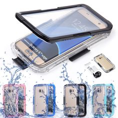 Swimming Waterproof Shockproof Phone Clear Case Cover For Samsung Galaxy S7 Edge #UnbrandedGeneric
