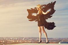 Kollektion 2012 Black-Mask-Wing model: E. Weber photo: K. Wagner