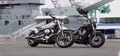 Harley-Davidson FXSB Breakout vs Victory Gunner