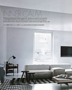 Piero Lissoni 'Extrasoft' modular seating system for Living Divani, no stranger to European editorial.