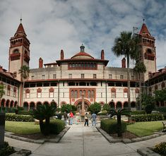 Flagler College - St. Augustine Florida; this is one spectacular building!