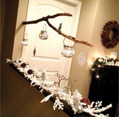 Tree Branch Christmas Mobile