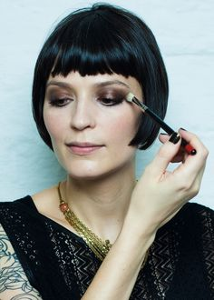 flapper bob haircut modern - Google-haku