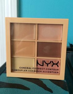 Rare Thing Of Beauty: Review: NYX Conceal, Correct, and Contour Palette #nyx #nyxconcealer #concealer