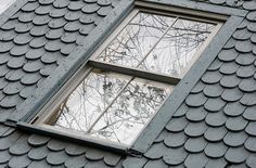 I would love a roof like that on my house