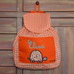 Mochila guardería tortuga con tu nombre - Marketplace social de tiendas para niños de 0 a 14 años