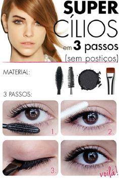 Super Eyelashes in 3 Steps   Makeup Mania