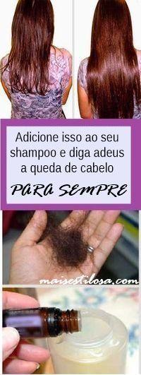Adicione esses ingredientes PODEROSOS ao seu shampoo e diga adeus a queda de cabelo DEFINITIVAMENTE!