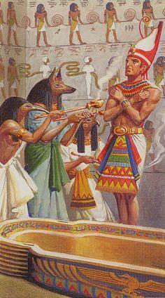 X - La roue de la fortune - Ramsès : Tarot de l'éternité par Severino Baraldi