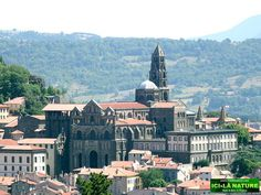 Cathedral, Le Puy-en-Velay, France. The Way of St.James ( Via Podiensis ).