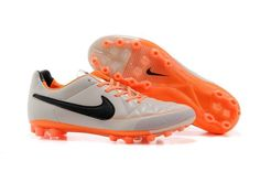 quality design 5ae04 d3817 Nike Elite Tiempo Legend Ag Gray Orange