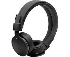 Urbanears PLATTAN ADV WIRELESS - Black - Trådlösa hörlurar med Bluetooth och swipe-funktion