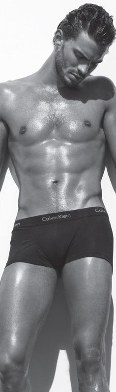 CHRISTIAN GREY...Jamie Dornan for Calvin Klein