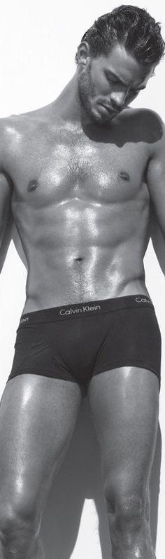 CHRISTIAN GREY...Jamie Dornan for Calvin Klein