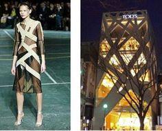 Resultado de imagem para inspiração moda arquitetura