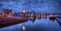 Reitdiephaven, Groningen, Holland