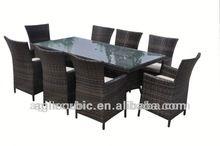 10032 2014 new outdoor rattan furniture garden sofa set