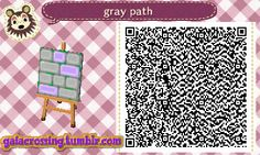 gray and purple path   QRCrossing.com