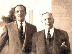 رائد الصناعات النسيجية في العراق (فتاح باشا)  الذي اسس مع أبنه نوري معملاً لنسج الصوف في الكاظمية سنة 1926 Iraqi People, Baghdad Iraq, The Old Days, Historical Pictures, Mirror Image, Old Photos, The Past, Memories, Photography