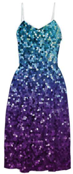 SUMMER DRESS Mosaic Sparkley Texture G21B by medusa-graphicart
