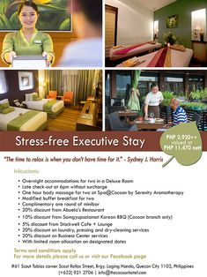 Cocoon Boutique Hotel – Best Relaxing Place in Quezon City