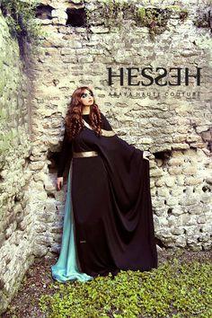 * خليجية *: Dubai Abaya Trends - HESSEH haute couture