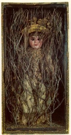 Untitled (Bebe Marie) - Joseph Cornell Completion Date: 1940 Style: Surrealism