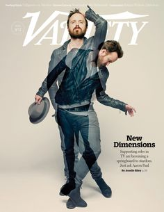 Aaron Paul Variety cover