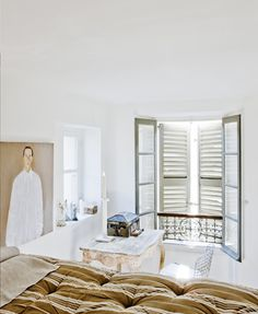 white | interior