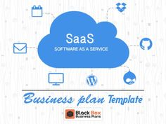SaaS Software As a Service business plan Platform As A Service, Business Plan Template, Competitor Analysis, Cloud Computing, Black Box, Business Planning, Awesome, Amazing, Software