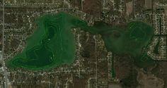 <b>Lake</b> Contour Map for <b>Simonton</b> <b>Lake</b> in Elkhart county, <b>Indiana</b>