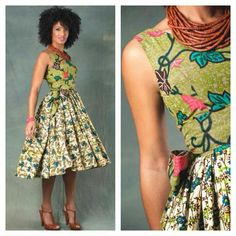 Stylish ideas on african fashion outfits 178 African Inspired Fashion, African Dresses For Women, African Print Dresses, African Print Fashion, African Attire, African Wear, Ethnic Fashion, African Women, Look Fashion