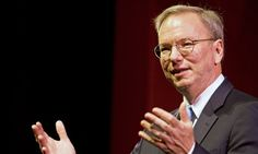 Politicians are failing us, says Google's Eric Schmidt