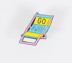 A pin that just says exactly what you're feeling. | 16 Pins For People Who Don't Give A Fuck