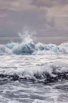 Captivating Artists: Zaria Forman   Lovely Clusters - http://www.lovelyclustersblog.com
