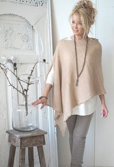 New Sewing Clothes Women Tunics Stitches Ideas Mode Outfits, Casual Outfits, Fashion Outfits, Womens Fashion, Fashion Tips, Fashion Clothes, Fall Outfits, Fashion Ideas, Fashion Over 50